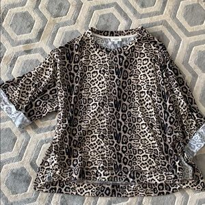 Cheetah print top